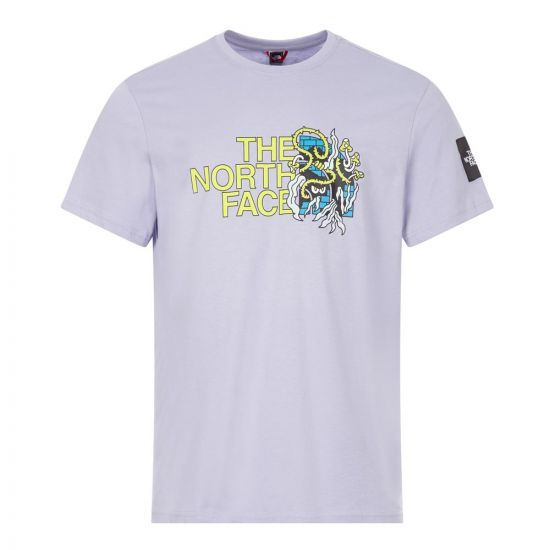 The North Face T-Shirt Metro Ex Graphic | NF0A557LW23 Lavender