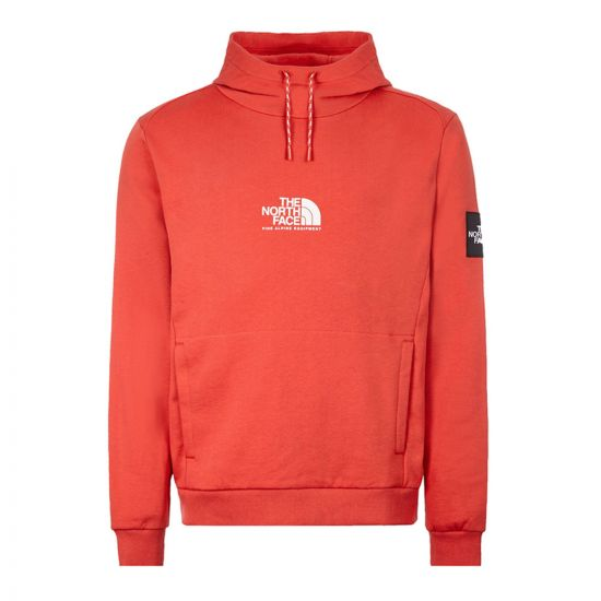 North Face Hoodie – Red 21506CP -1