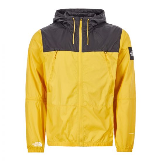 North Face Jacket Mountain - Yellow / Black 21981CP -1