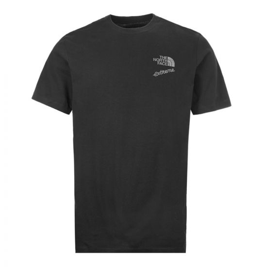 the north face t-shirt extreme | NF0A4AA1JK3 black