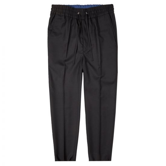 Vivienne Westwood Drawstring Trousers | S25KA0627 S47883 900 Black