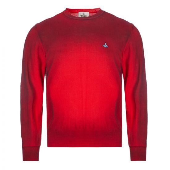 vivienne westwood sweatshirt crew neck | S25HA0455 S17230 254M red