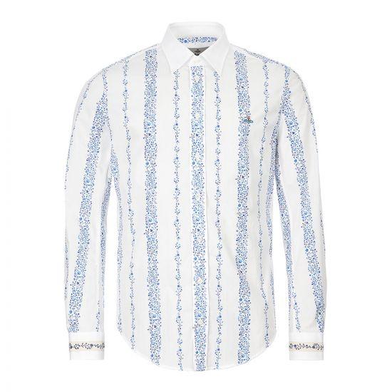 Vivienne Westwood Shirt – White / Blue 21351CP -1