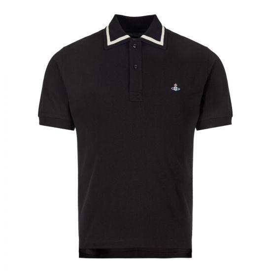 Vivienne Westwood Polo Shirt | S25GL0022 S23142 900 Black