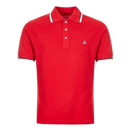 Vivienne Westwood Polo Shirt - Red 21127CP -1