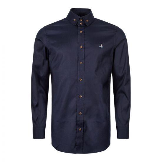 Vivienne Westwood Shirt   S25DL0456 S48869 524F Navy