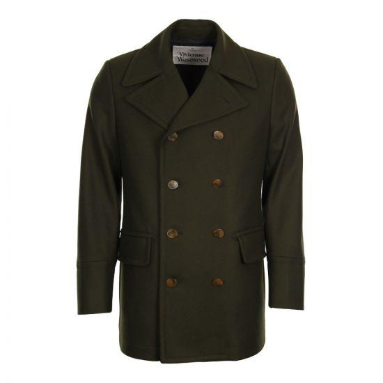 Vivienne Westwood Sports Jacket S25AM0239 S49281 In Olive