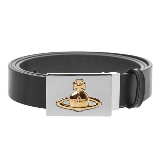 Vivienne Westwood Belt Square Buckle | 82010002 40148 N460 Black