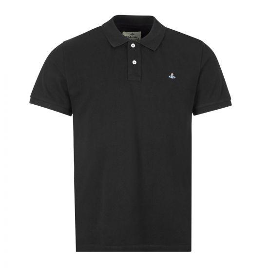 Vivienne Westwood Polo Shirt , 26010025 21681 N401 Black , Aphrodite 1994