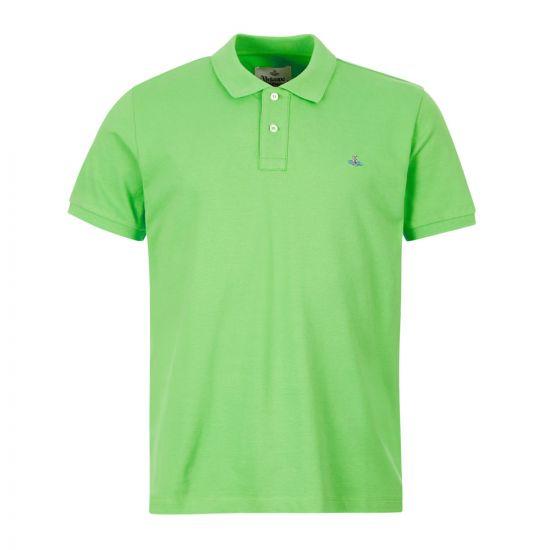Vivienne Westwood Polo Shirt , 26010025 21681 M401 Lime , Aphrodite 1994
