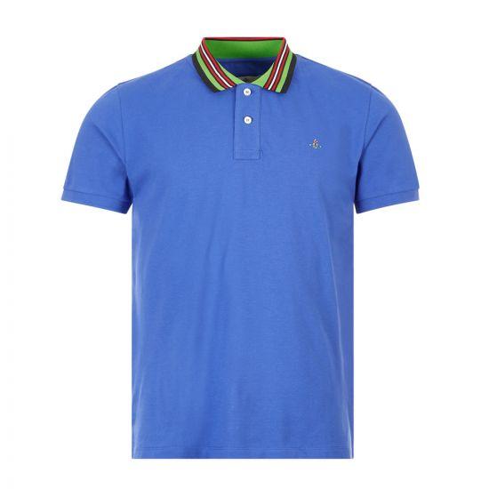 Vivienne Westwood Polo Shirt , 26010026 21681 K401 Blue , Aphrodite 1994
