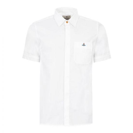 Vivienne Westwood Shirt|S25DL0493 S4789 100 White|Aphrodite1994
