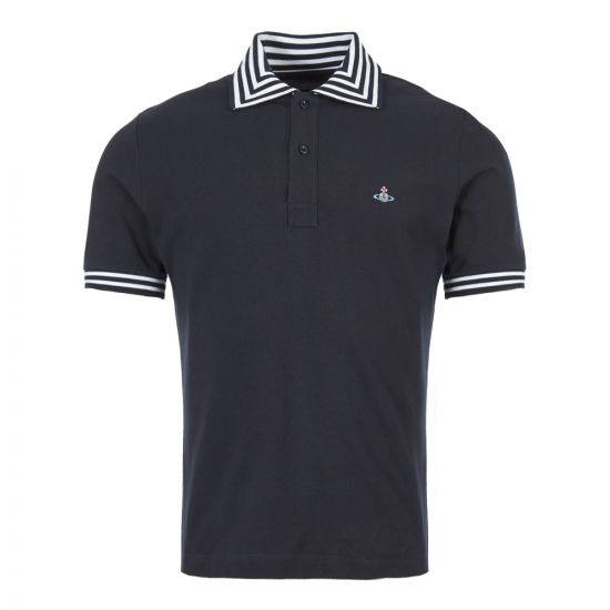 Vivienne Westwood Polo Shirt | S25GL0018 S23142 524 Navy