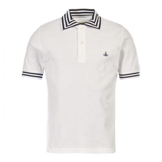 Vivienne Westwood Polo Shirt | S25GL0018 S23142 100 White