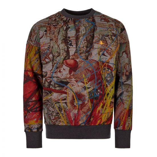 Vivienne Westwood Sweatshirt S25GU120 S25431 002S Grey