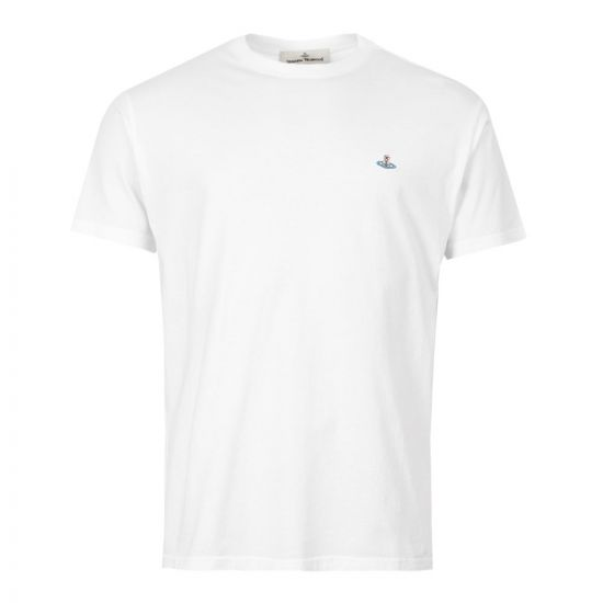 Vivienne Westwood T-Shirt S25GC0430 S22634 100 White