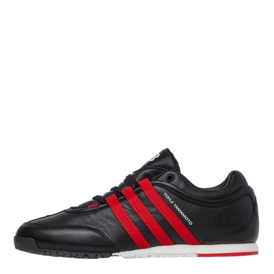 adidas Y 3 Boxing Trainers Black Red