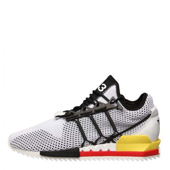 Y3 Trainers Harigane BC0902 in White/Black/Red