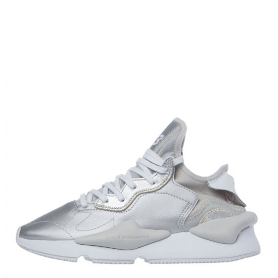 Y3 Kaiwa Trainers - Silver 21139CP -1