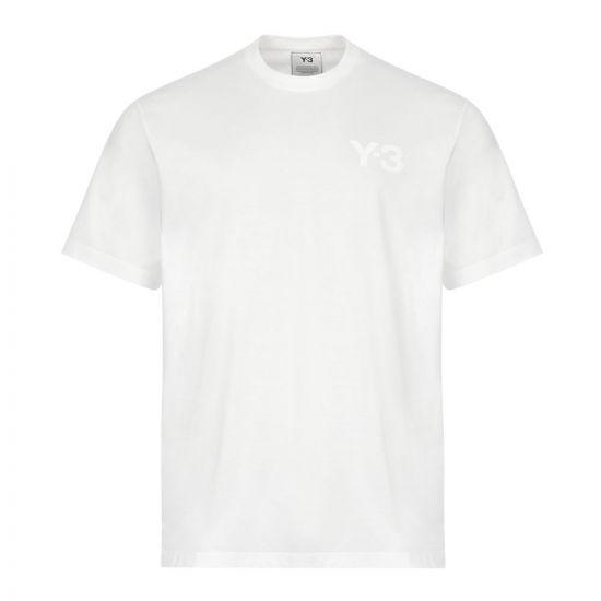 Y3 T-Shirt , FN3359 White , Aphrodite 1994