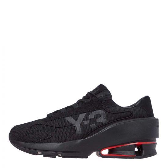 Y3 Sukuii II Trainers   FX0793 Black