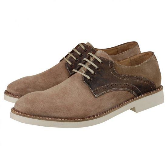 Hudson Shoes - Kanter Beige Suede