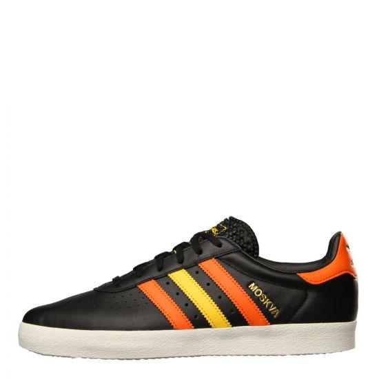 adidas Originals 350 Trainers cQ2777 Black / Orange / Yellow
