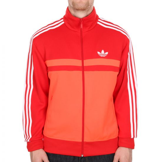 Adidas Originals Adi-Icon Track Top in Sol Red