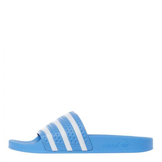 adidas adilette slides EE6181 light blue