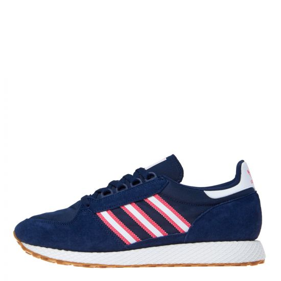 adidas originals forest grove DB3016 navy/pink