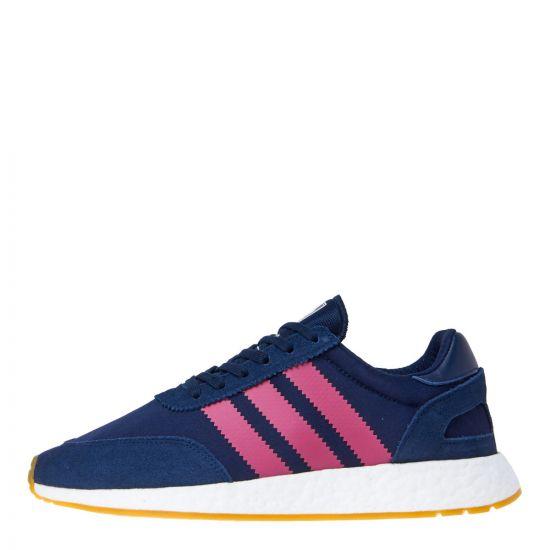 adidas originals I-5923 trainers DB3012 navy/pink