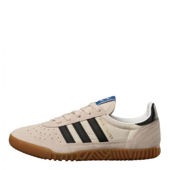 adidas Originals Indoor Super Trainers B41521 in Clear Brown / Black / Gum