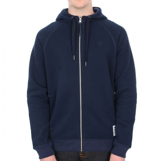 Adidas Originals Premium Essentials Zip Hoody - Collegiate Navy