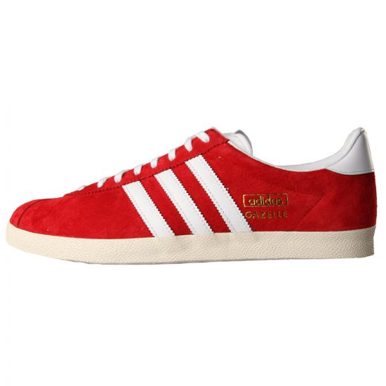 Adidas Gazelle OG Trainers Red