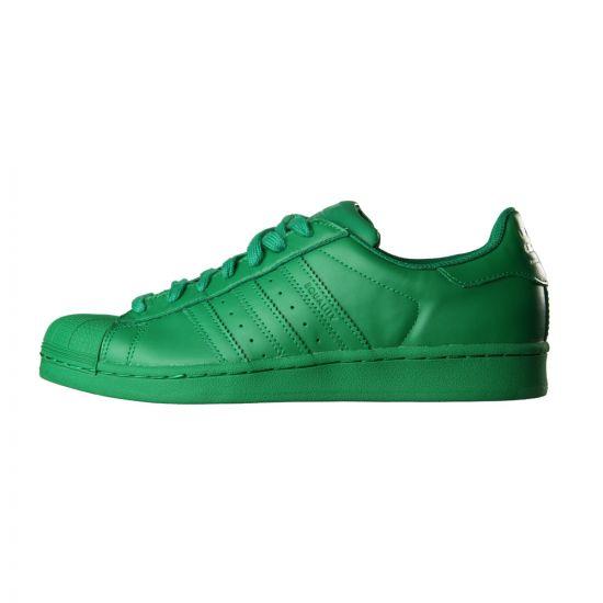 adidas Originals Supercolor Superstar Trainers in Green