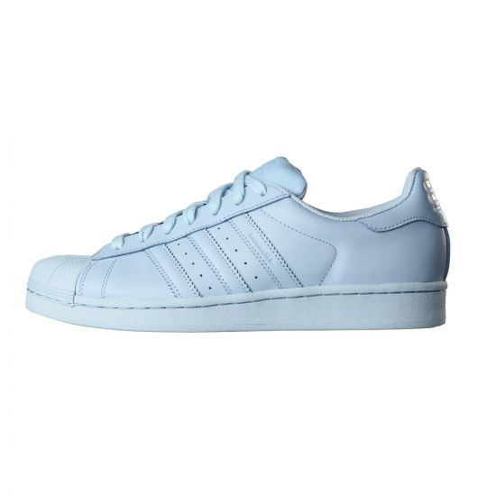 adidas Originals Supercolor Superstar Trainers in Sky Blue