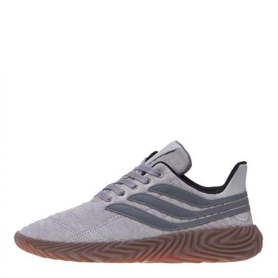 adidas Originals Sobakov Trainers D98152 Grey/Gum