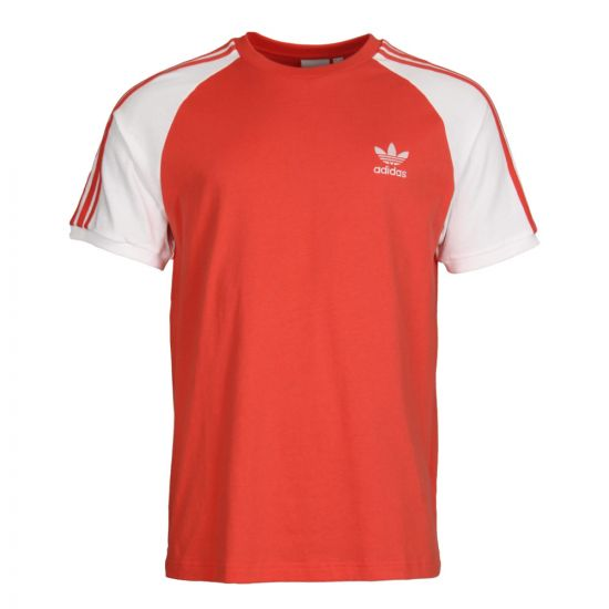 adidas T-Shirt in Trace Scarlet