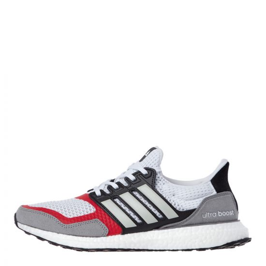 adidas Ultraboost Trainers EF2027 White / Grey / Red