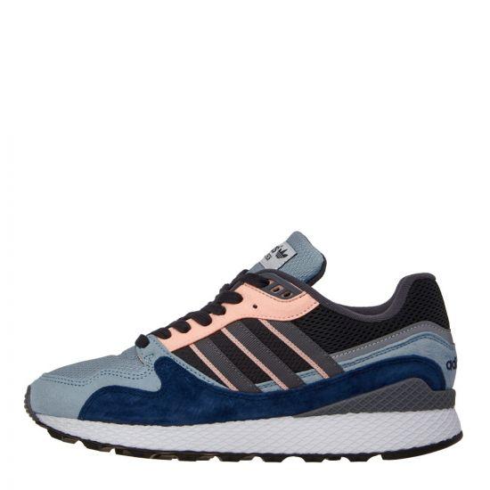 adidas Originals Ultra Tech Trainers   BD7934 Grey/Blue/Pink   Aphrodite1994