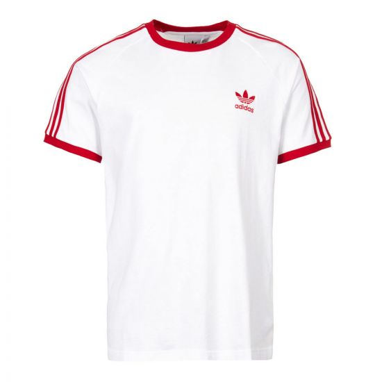 Adidas California T-Shirt  DY1533 White / Red