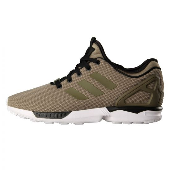 ZX Flux NPS Ripstop Trainers - Dark Cargo