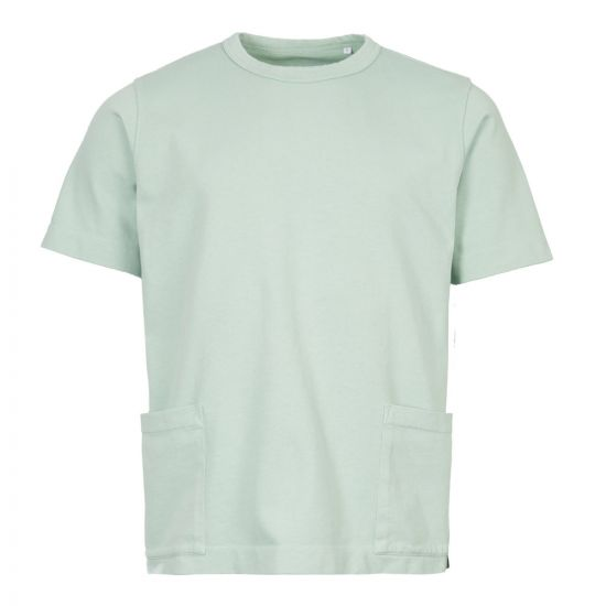 Albam T-Shirt ALM611417219 063 In Faded Jade