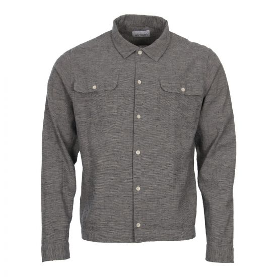 Albam Press Shirt ALM511063118 002 in Grey