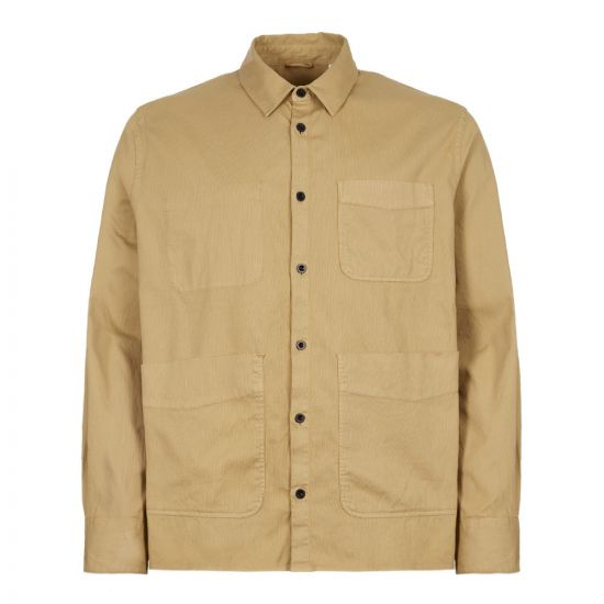 Albam Overshirt ALM531339219 042 In Tobacco