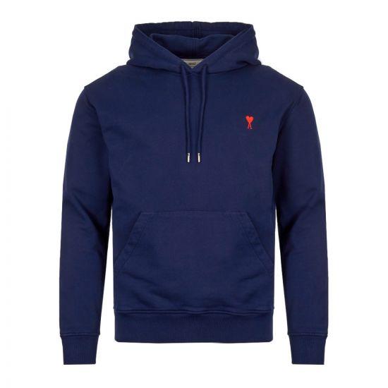 ami hoodie ami de coeur E19J008 732 410 navy
