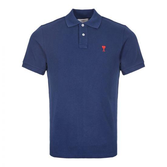 Polo Shirt - Navy Logo