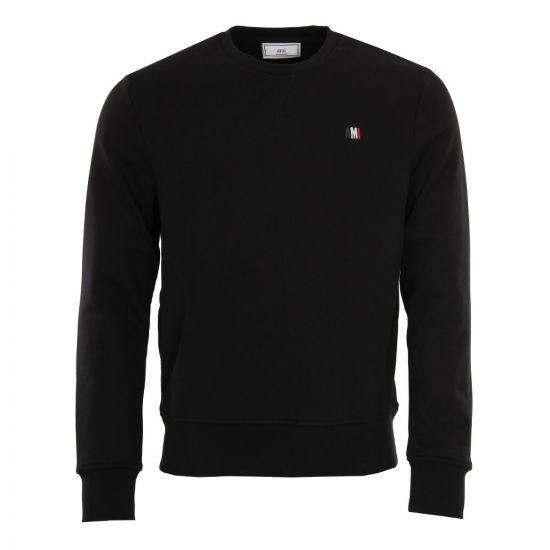 AMI Sweatshirt in Black BSRJ003.73