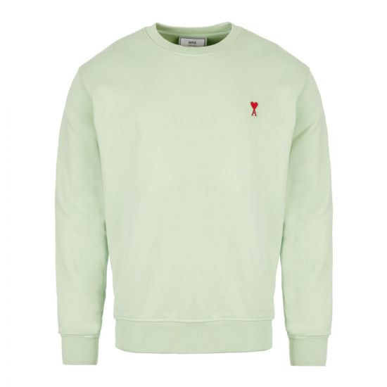 Ami Sweatshirt | H19 J007 730 302 Pale Green