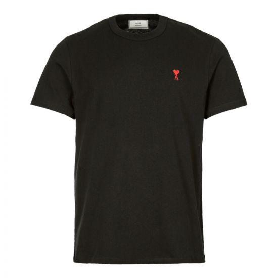 Ami T-Shirt   H19J108 720 001 Black